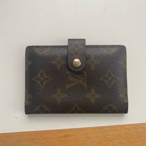 authentic LV purse wallet